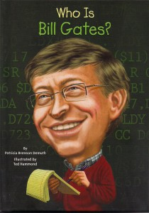 Who is Bill Gates Book Cover