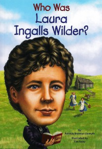 Who was Laura Ingalls Wilder Book Cover