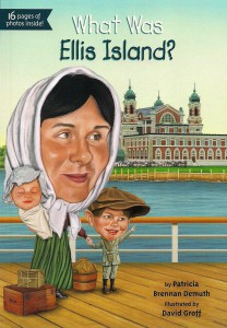 What was Ellis Island Book Cover