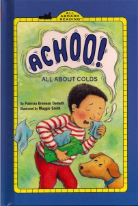 Achoo! All About Colds Book Cover