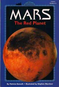 Mars The Red Planet Book Cover